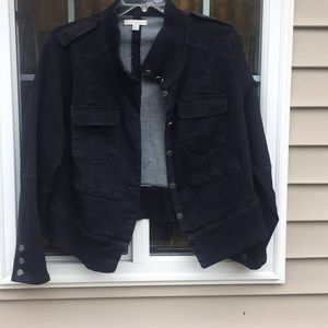 NWOT Dark Denim jacket